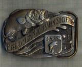 Y201 -PAFTA INTERESANTA - BASS ANGLERS SPORTSMAN SOCIETY - ASOCIATIE PESCARI USA