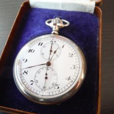 Ceas buzunar cronograf pentru cunoscatori - Martel calibru 1916