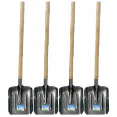 4 x Lopata pentru zapada si constructii