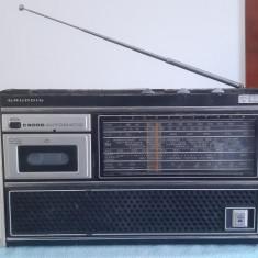 CASETOFON GRUNDIG C 6000 AUTOMATIC , FUNCTIONEAZA .