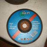 14 buc.Discuri de polizat metal,180 X 6 X 22= 4 Lei