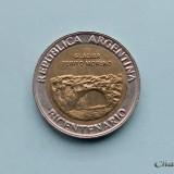 ARGENTINA  -  1 Peso 2010  -  Glaciar Perito Moreno, America Centrala si de Sud