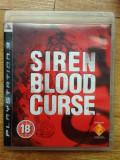 Siren: Blood Curse PS3 - Sony Playstation 3
