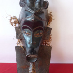 MASCA DE RITUAL AFRICANA, TRIBALA