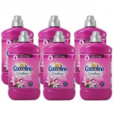 6 x Balsam de rufe Coccolino Creations parfum de Flori tiare si fructe rosii