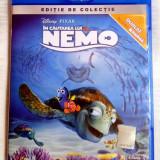 ÎN CĂUTAREA LUI NEMO (FINDING NEMO) [2004] (BLU-RAY ORIGINAL, IMPECABIL, ROMÂNĂ), BLU RAY, Romana