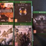 Jocuri Xbox One Diablo, Halo, Assasins Creed, Battlefield Hardline