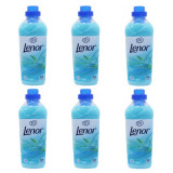 6 x Balsam de rufe Lenor Fresh Meadow, 6 x 1L