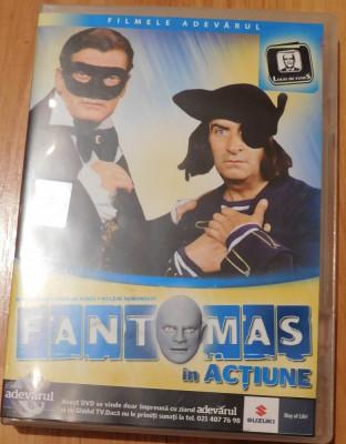 DVD Fantomas in actiune Louis de Funes Adevarul foto