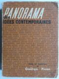 Panorama des idees contemporaine - Gaetan Picon