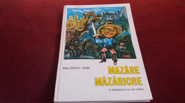MAJTENYI ERIK - MAZARE MAZARICHE CARTONATA