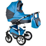 Carucior Flamingo Easy Drive 3 in 1 - Vessanti - Blue
