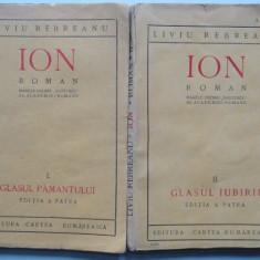 Ion - Liviu Rebreanu Vol.1+vol.2