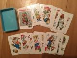 Joc carti pt copii, Schwarzer Peter, imagini f. frumoase, complet, 24 cartonase