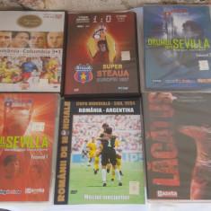 COLECTIE DVD-URI  FOTBAL .  6 BUCATI  .