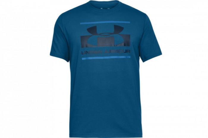 Tricou Under Armour Blocked Sportstyle Logo 1305667-487 pentru Barbati