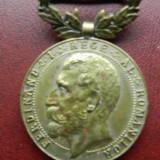 Medalie Ferdinand Rasplata muncei pt. constructiuni scolare 1923