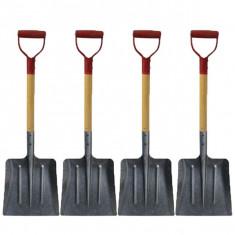 4 x Lopata ruseasca cu coada si maner