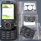Telefon Sony Ericsson W100 Spiro Negru, Nu se aplica, Orange