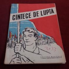 CANTECE DE LUPTA 1959