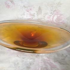 Superb platou din sticla Murano