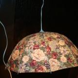 Veioza(plafoniera rulote/camping)tip umbrela Bec E27