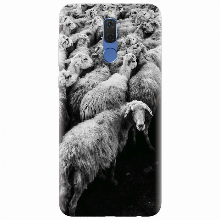 Husa silicon pentru Huawei Mate 10 Lite, Sheep