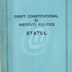 Drept constitutional si institutii politice - Statul