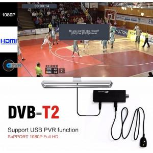 Tuner digital DVB-T2 Terrestrial Receiver Full HD 1080P, nu necesita PC