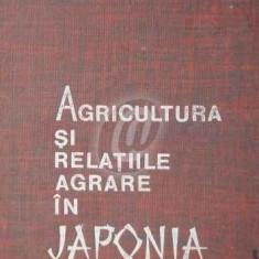 Agricultura si relatiile agrare in Japonia