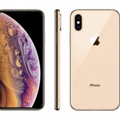 IPhone xs gold, Auriu, 64GB, Neblocat, Apple