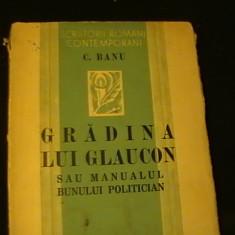 GRADINA LUI GLAUCON SAU MANUALUL BUNULUI POLITICIAN-C. BANU-S.R.C.-205 PG-