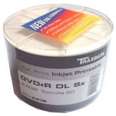 DVD+R DOUBLE LAYER TRAXDATA 8X PRINTABILE