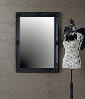 Oglinda cu o rama neagra  SNA009 foto