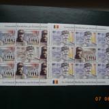 "2018- Romania - Franta ""Henri Berthelot"" - minicoli de 8+1 ,  neuzate - MNH, Nestampilat"