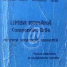Limba romana - Compendiu. Grile, vol. I - Fonetica, vocabular, gramatica pentru admiterea in invatamantul superior