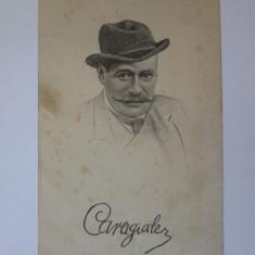 Carte postala necirculata I.L.Caragiale aproximativ 1915