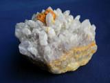 Specimen minerale - AMETIST CU SIDERIT SI LIMONIT (B15), Naturala
