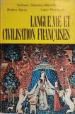 Langue, vie et civilisation francaises. Cours practique pour la I-ere annee