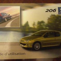 Guide d' utilisation Peugeot 206