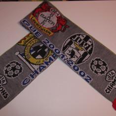 Fular fotbal Champions League 2001/2002 (Deportivo,Arsenal,Juventus,Leverkusen)