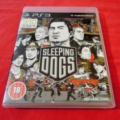 Joc Sleeping Dogs, PS3, original, alte sute de jocuri!, Actiune, 16+, Single player, Sony