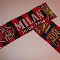 Fular fotbal AC MILAN - FC BARCELONA (UEFA Champions League 2006)