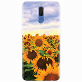 Husa silicon pentru Huawei Mate 10 Lite, Sunflowers