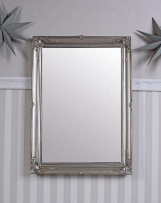 Oglinda cu o rama argintie SNA026 foto