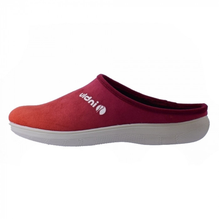 Papuci de casa dama, din textil, Inblu, BS29-016-BO-E8, visiniu inchis 38