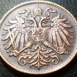 Moneda istorica 2 HELLER - AUSTRO-UNGARIA, anul 1894  * Cod 3091 - EXCELENTA!, Europa