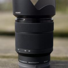 Sony 28-70mm F3.5-5.6 OSS + Parasolar