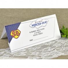 Card plic botez super bebe 7609