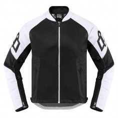 Geaca moto Icon Mesh AF culoare Alb/ Negru, marime XL Cod Produs: MX_NEW 28204656PE